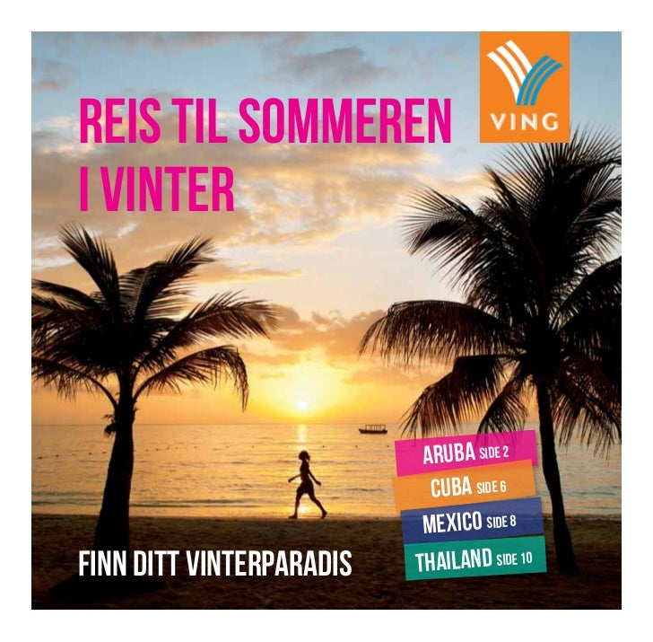 reis til sommereni vinter                           aruba side 2                            cuba side 6                   ...