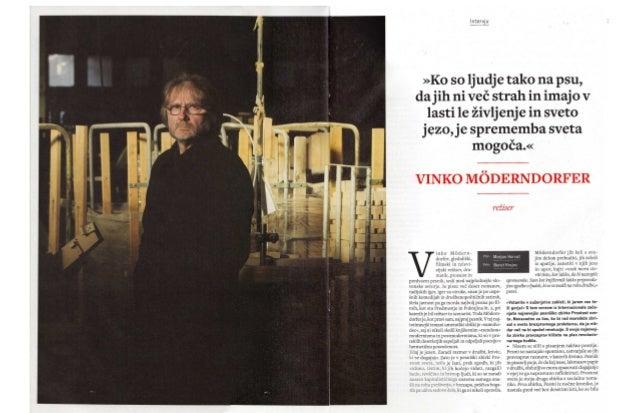 Vinko Möderndorfer -  intervju