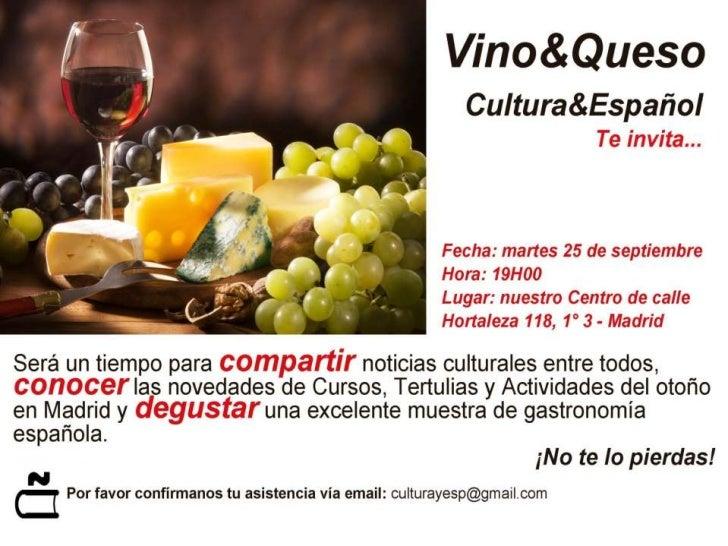 Cultura & Español te invita a su inauguración