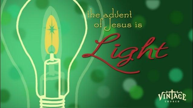 Vintage adventof jesusislight_12.24.13