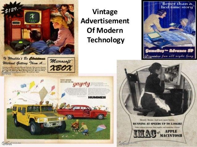 VintageAdvertisement Of Modern Technology