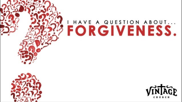 """How easy/difficult is it for me to forgive someone when they""""ve hurt me or someone I care about? WHY? QUESTION OF THE DAY ..."""