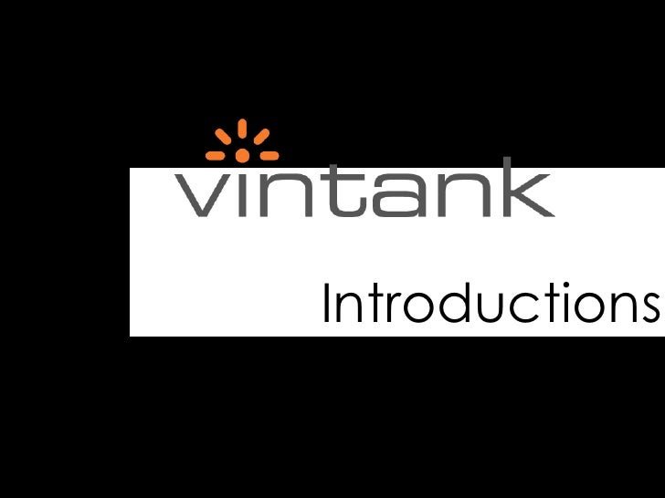 VinTank: Introductions