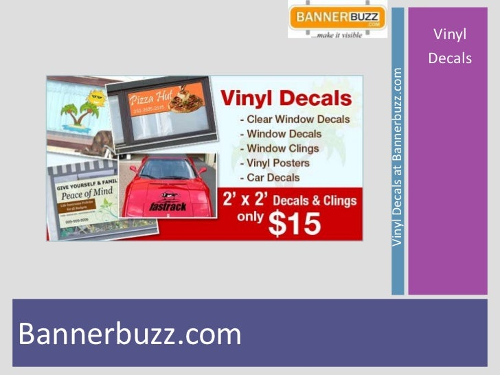 Bannerbuzz.com                 Vinyl Decals at Bannerbuzz.com                                                   Vinyl     ...