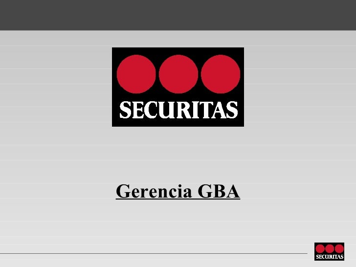 Gerencia GBA