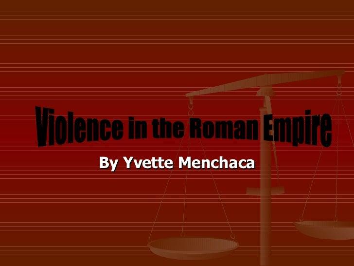 Violence In Roman Empire