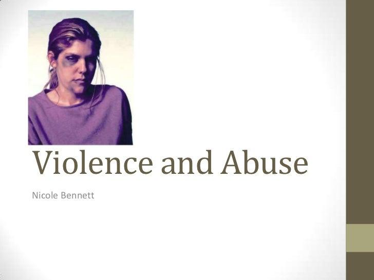 Violence and abuse