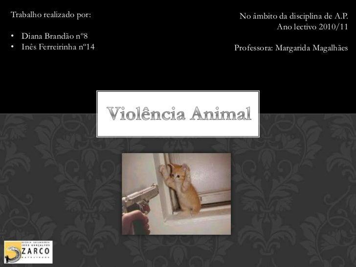 Trabalho realizado por:<br /><ul><li>Diana Brandão nº8