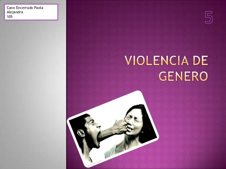 Proyecto.Violencia de genero