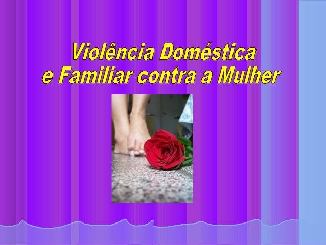 Violencia domestica 2012