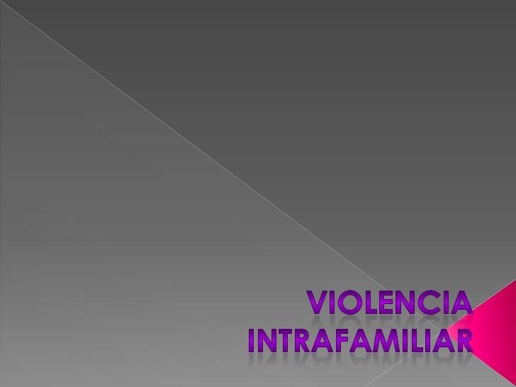    La violencia se establece progresivamente en la pareja. La mujer se deja maltratar, en    algunos casos, porque se con...