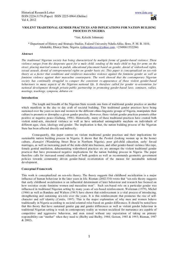 Historical Research Letter                                                                     www.iiste.orgISSN 2224-3178...