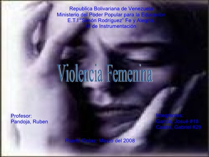 Violenvia Femenina