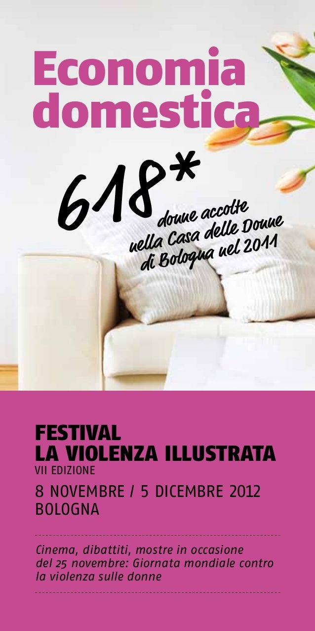Violenza illustrata 2012 programma
