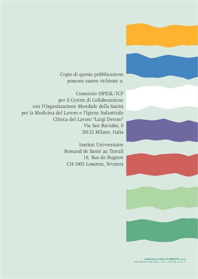 Industria Grafica RABOLINI s.n.c.PARABIAGO (Mi) Italy - Tel. +39.0331.55.14.17Copie di questa pubblicazionepossono essere ...