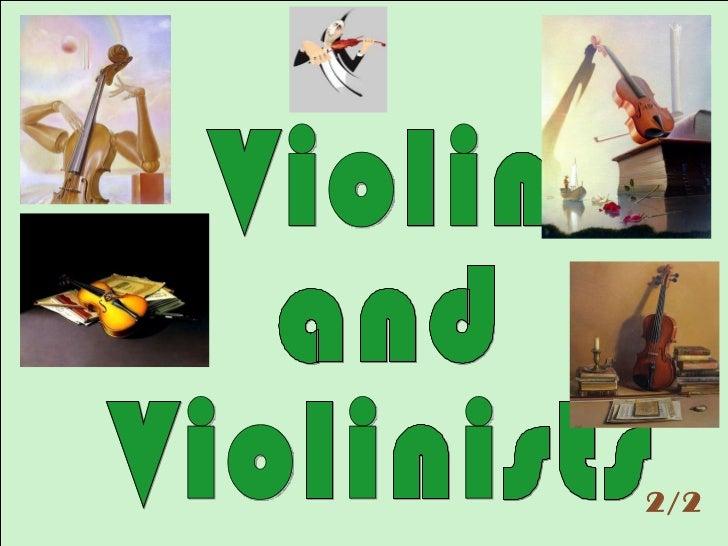 Violin and violinists 2