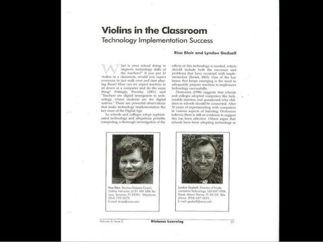Violins article