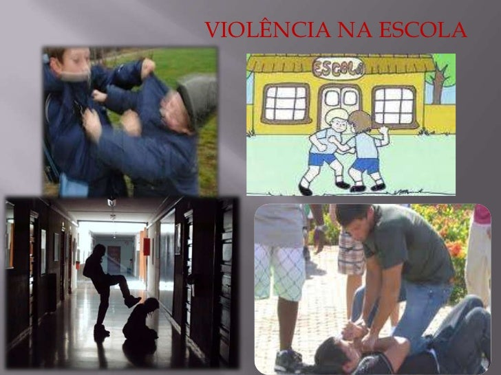 VIOLÊNCIA NA ESCOLA<br />