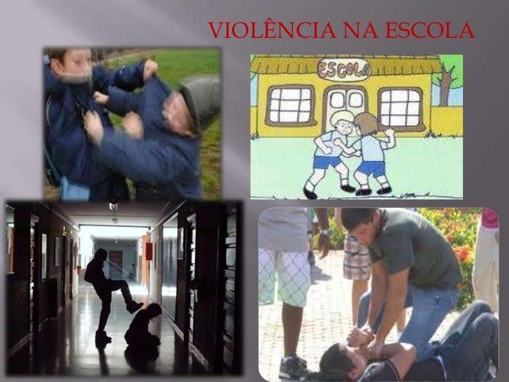 Violência nas escolas projeto de matematica