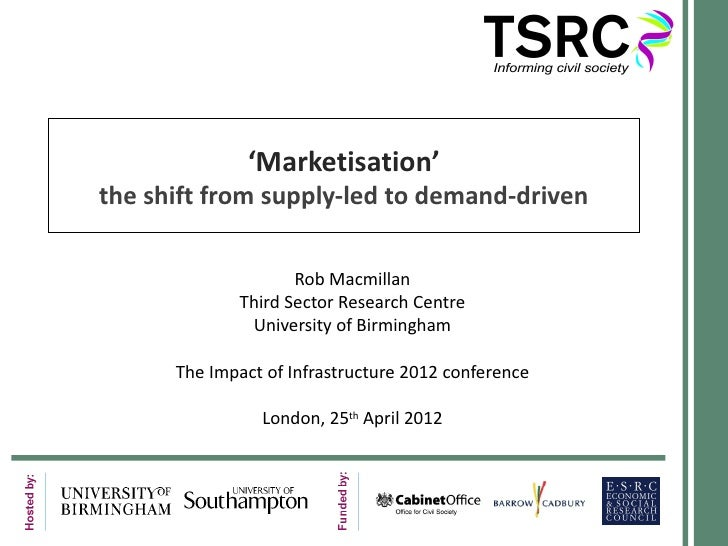 Rob MaMillian, Third Sector Research Centre & University of Birmingham