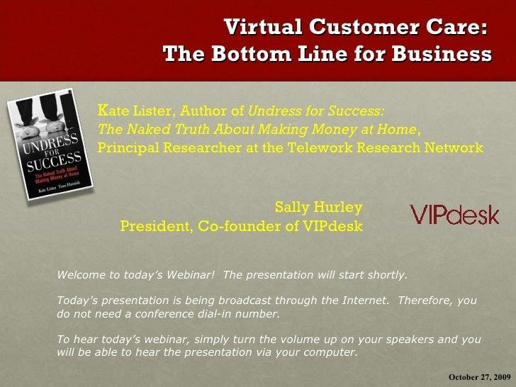 Telecommuting: Bottom Line Impact
