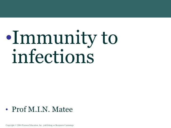 Vip immunity to infections