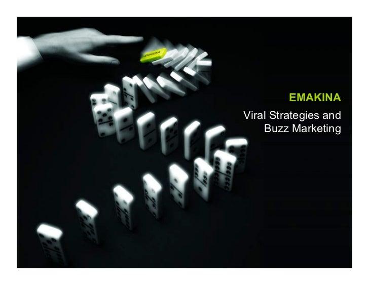 Viral Strategies Buzz Marketing