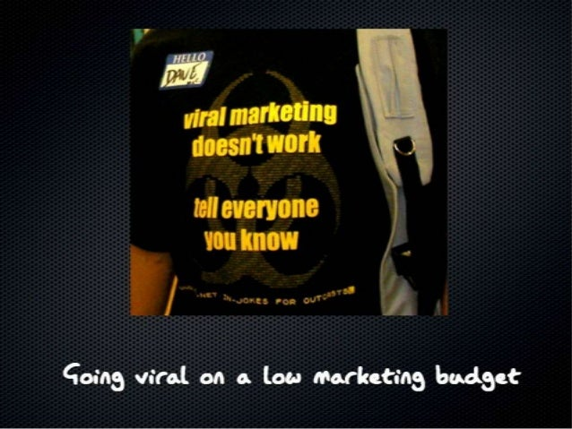 #PNMeetup - Going Viral on a Low Cost Market Budget - Amit Ranjan, SlideShare