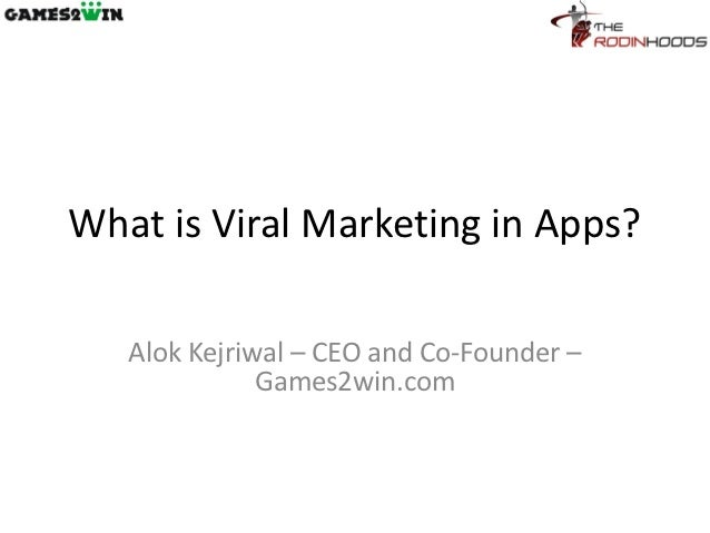 Viral Marketing in Apps by Rodinhood