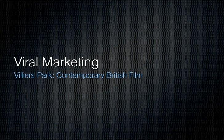 Viral Marketing (2010)