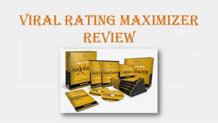 Viral Rating maximizer        Review