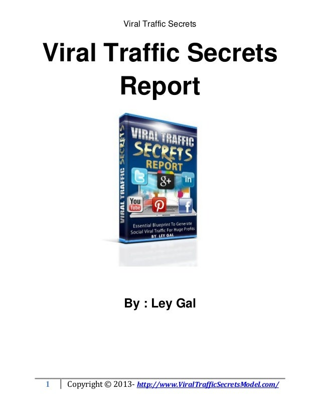Viral Traffic Secrets Report