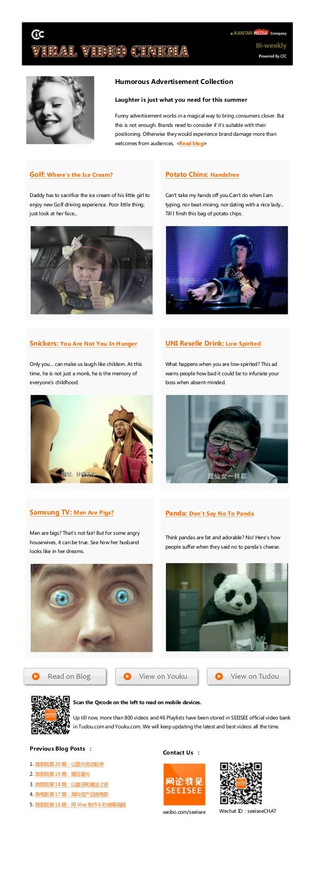 Viral Video Cinema Vol.21:Humorous Advertisement Collection