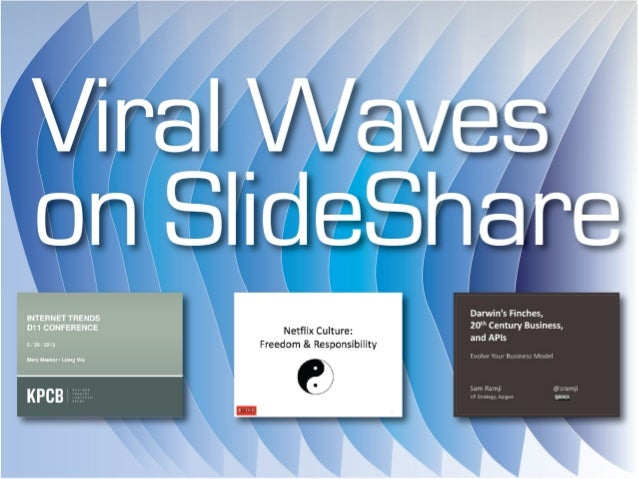 Viral Waves on SlideShare
