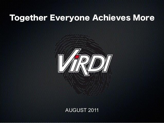 Virditech aug2011
