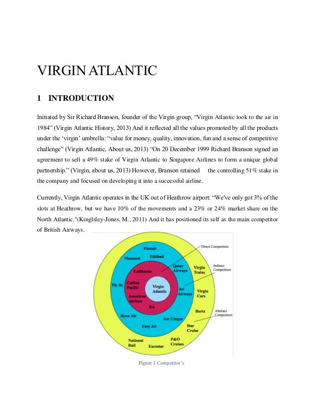 an analysis of the virgin group Virgin group case study presented to prepared by group 9 21 november 2013 table of contents introduction 3 swot analysis 3 bcg matrix analysis of virgin.