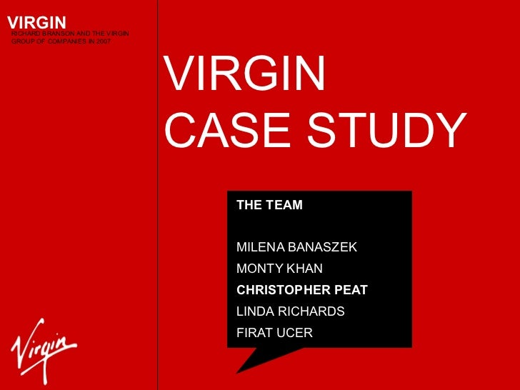 case study the virgin group We will write a custom essay sample on strategic management – virgin case study specifically for you for only $1638 $139/page  case study the virgin group .