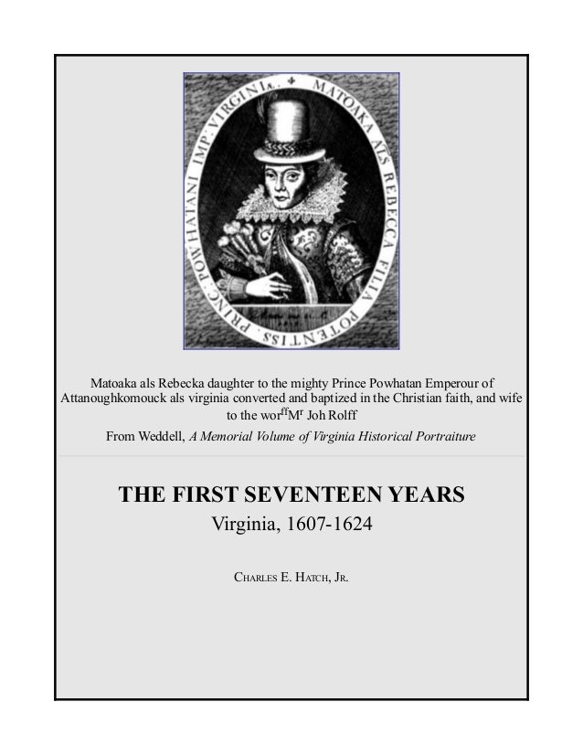 Virginia, 1607 - 1624, History, Jamestown, Free eBook
