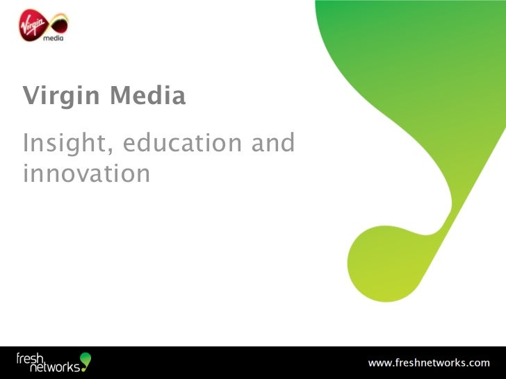 Social media case study: Virgin Media