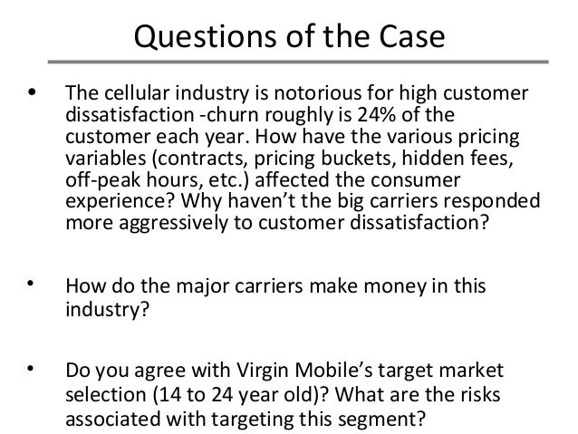 virgin mobile usa case analysis