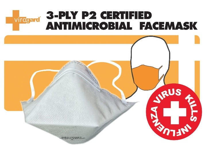 The Virogard Difference:    surgical mask