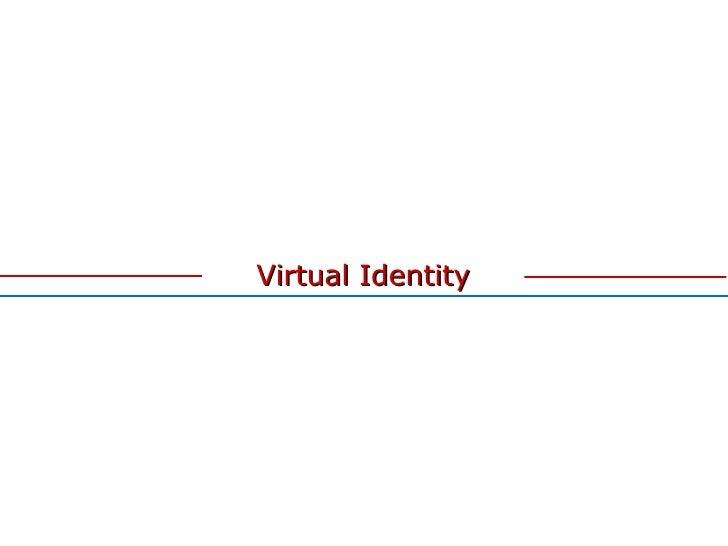 Virtual Identity 1.0 by Leafar