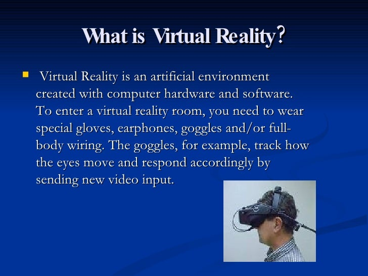 Virtual Reality Powerpoint For Anthony Kafity Grade 7