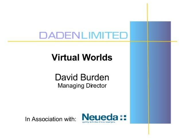 Virtual Worlds - Daden