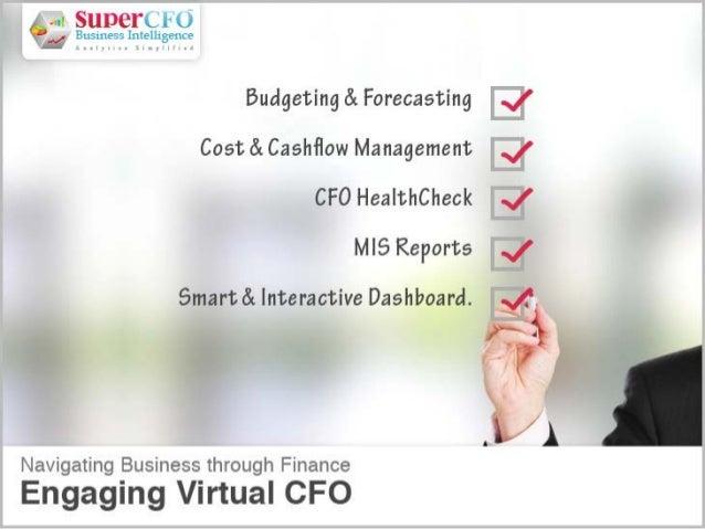 Virtual CFO - A unique proposition!