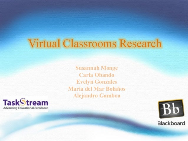 Virtual classrooms research[1]