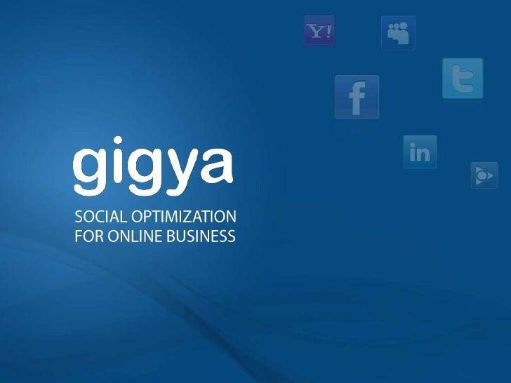 SOCIAL OPTIMIZATION FOR ONLINE BUSINESS<br />
