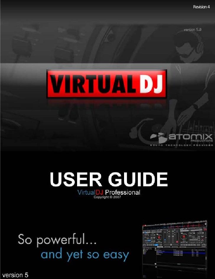 Virtual Dj 5   User Guide