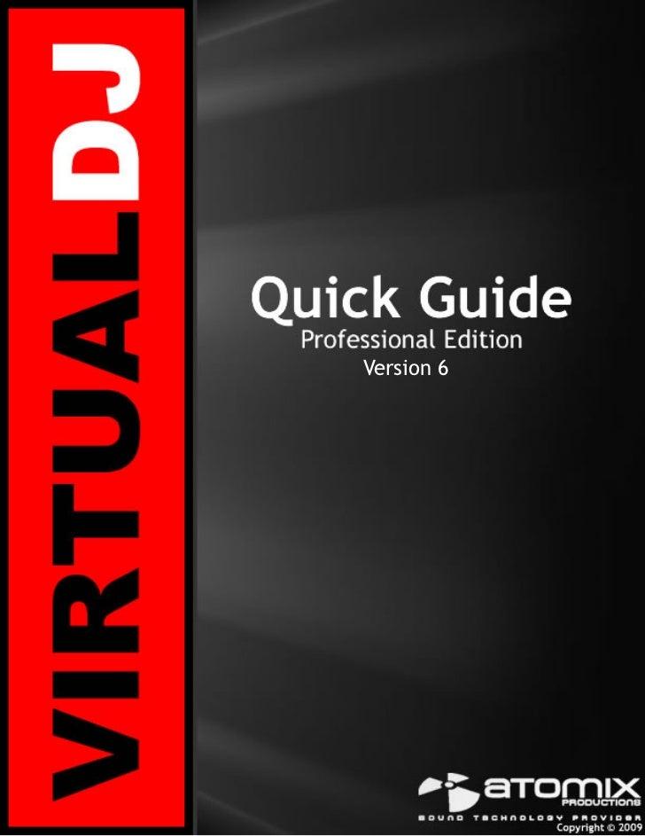 Virtual dj 6   setup quick guide