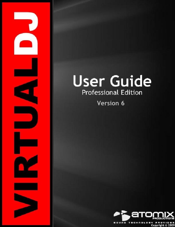 Virtual Dj 6   User Guide